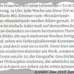 Kreuzer-Artikel (Ausschnitt, Juni 2010, S. 64)