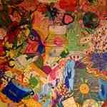 Malusion beim 2. deutschsprachigen Jugendforum in Wien - fertig gemalt