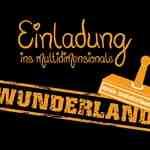 Flyer: Einladung ins multidimensionale Wunderland