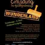 Plakat: Einladung ins multidimensionale Wunderland