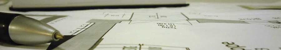 Header-Bild: Kugelschreiber auf Grundriss