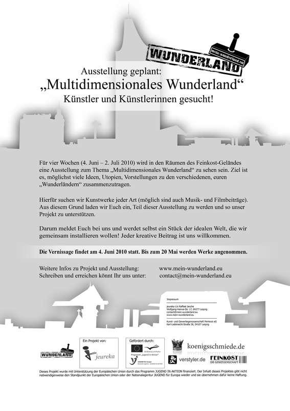 Ausstellung geplant - Künstler und Künstlerinnen gesucht